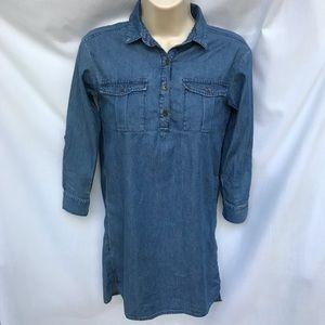 Old Navy Shirt Dress - Denim Look
